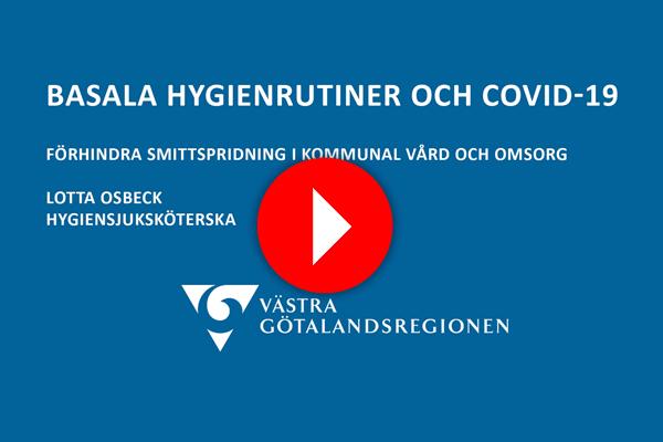 VGRs hygienrutiner vid Covid 19